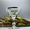 Thumbnail: Unique Crystal Martini Glass
