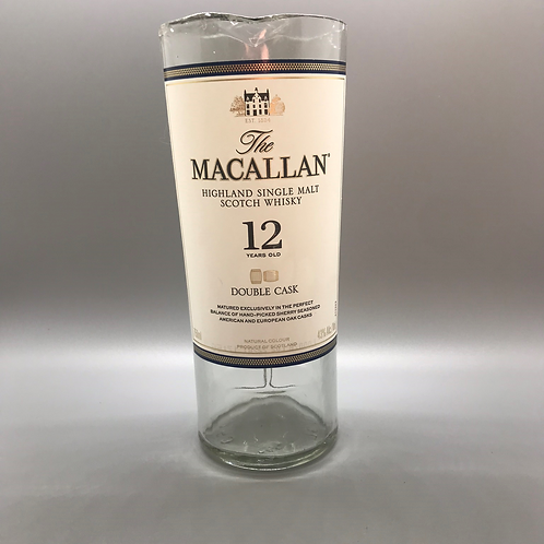 Recycled Macallan 12 Bottle