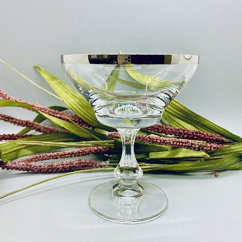 Unique Crystal Martini Glass