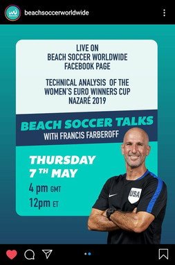 Beach Soccer Talks with... Franncis Farberoff (USA)