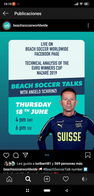 Beach Soccer Talks with... Angelo Schirinzi (SUI)