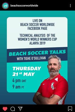 Beach Soccer Talks with... Tighe O'Sullivan (USA)