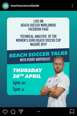 Beach Soccer Talks with... Perry Northeast (ENG)