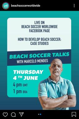 Beach Soccer Talks with... Marcelo Mendes  (BRA)