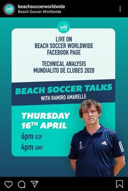 Beach Soccer Talks with... Ramiro Amarelle (ESP)