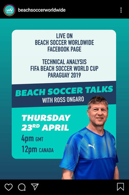 Beach Soccer Talks with... Ross Ongaro (CAN)