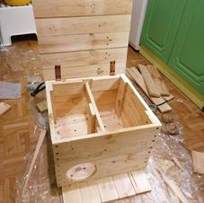 Domek dla jeża - budowa