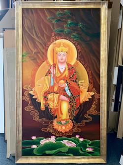 Large Acrylic Painting.