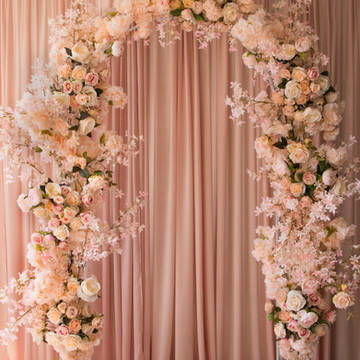 pastel archway