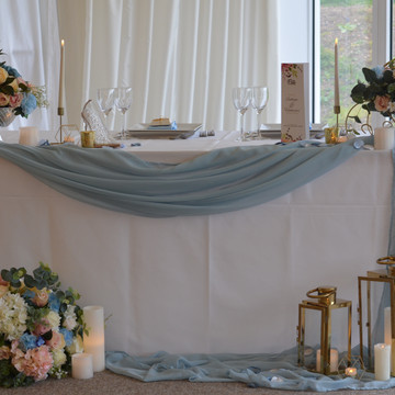 cinderella themed head table