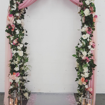 pink archway