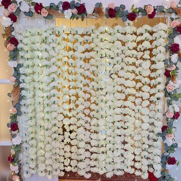 Nikkah Floral Parition