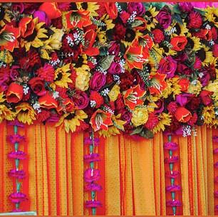 Vibrant Flower Section