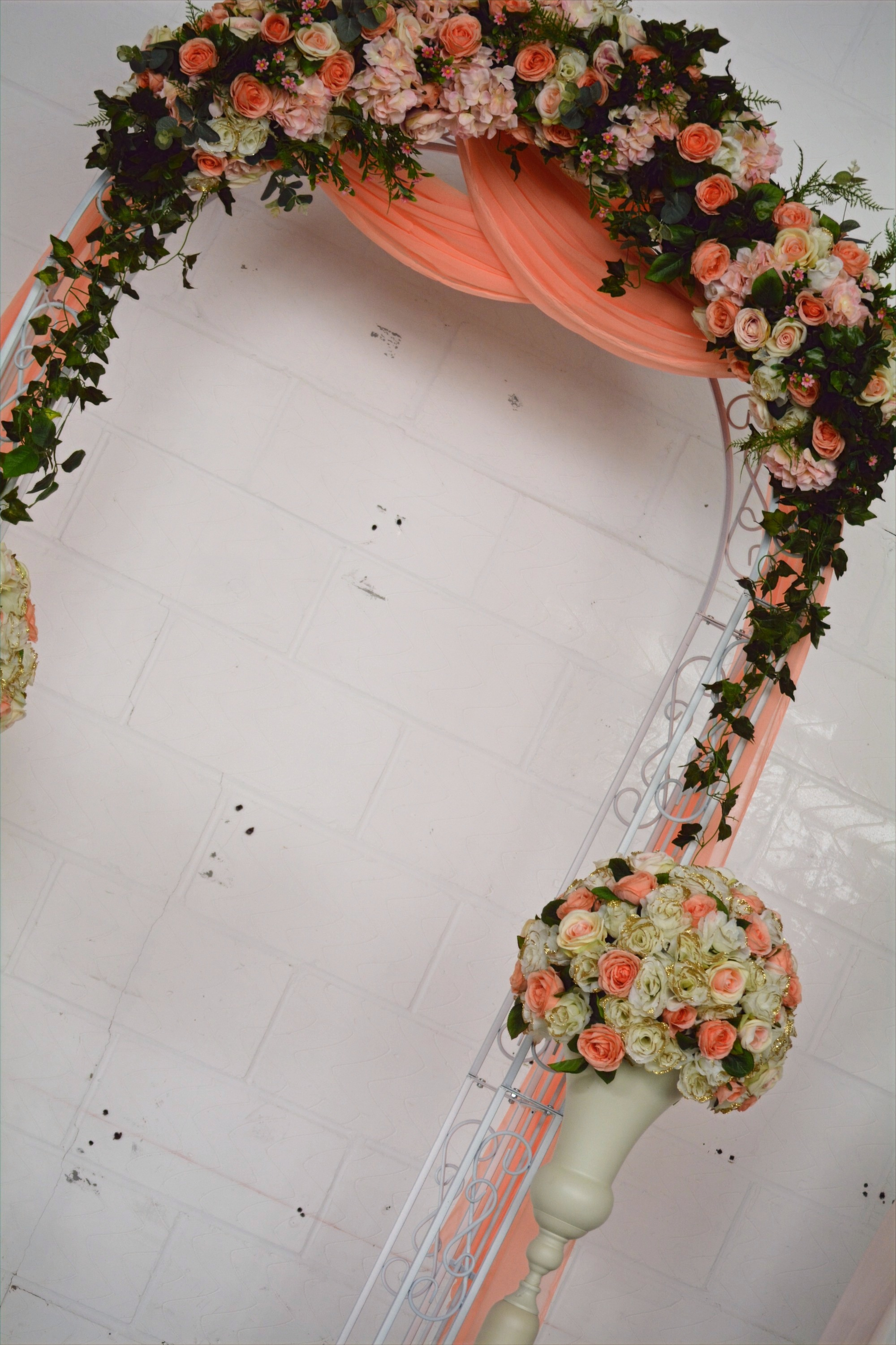 Ceremony Floral Garland Arch
