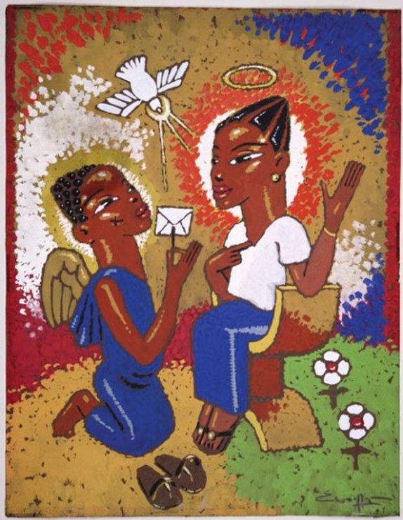annunciation-by-nigerian-artist-paul-woe