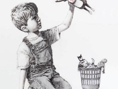 Banksy: 19 milioni di euro agli ospedali inglesi