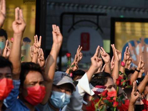 MYANMAR: la lotta dei giovani per la libertà