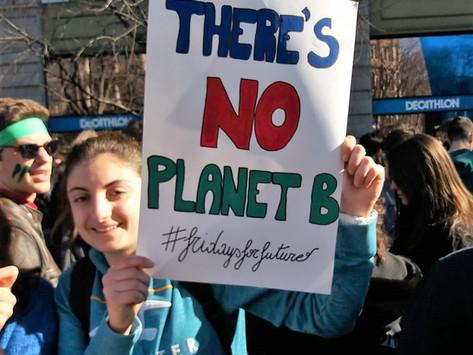 Insieme per salvare il pianeta #Fridaysforfuture