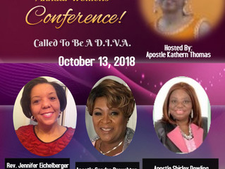 Called To Be A Diva Conference| October 13, 2018
