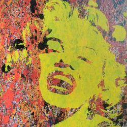 Marilyn Monroe (yellow)