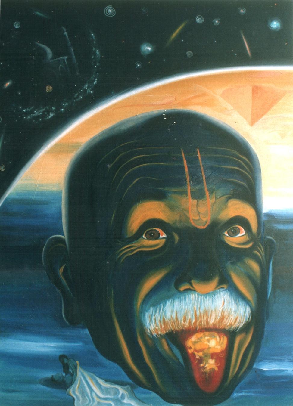 Blue Atom Monk