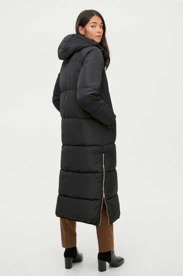 Long puffed coat