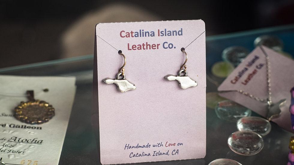 Island charm earrings