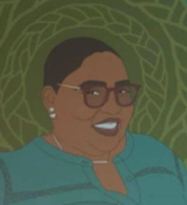 Illustration of Courtney Glenn
