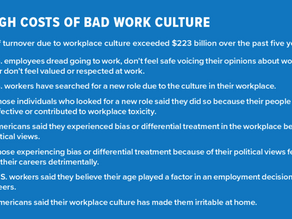 Bad Work Culture Breeds Bad Business