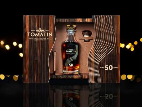 Tomatin presenta su primer Whisky de 50 años