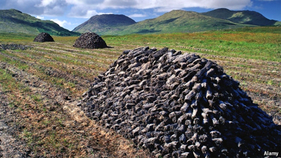 "Economista / ""Ireland is ditching peat for energy from wind""."