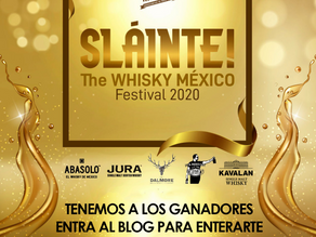 Ganadores del Primer Festival de Whisky en línea Slàinte! - Whisky México