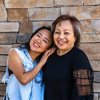 Two asian women.