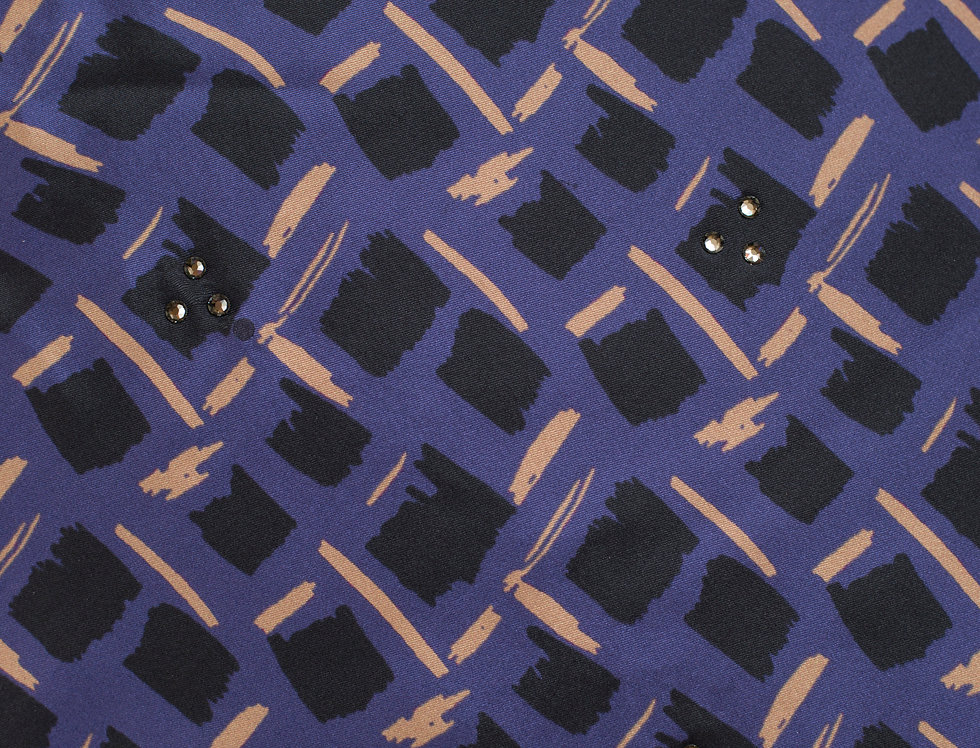 Silk Purple square scarf