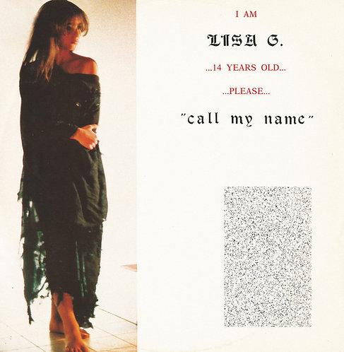 Lisa G - Call My Name (Reissue) - White Vinyl