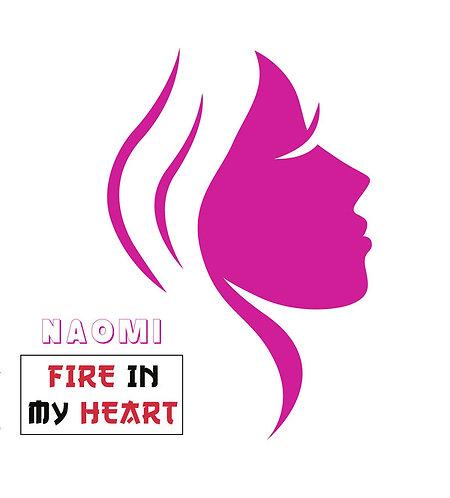 Naomi - Fire In My Heart - Magenta Pink Vinyl