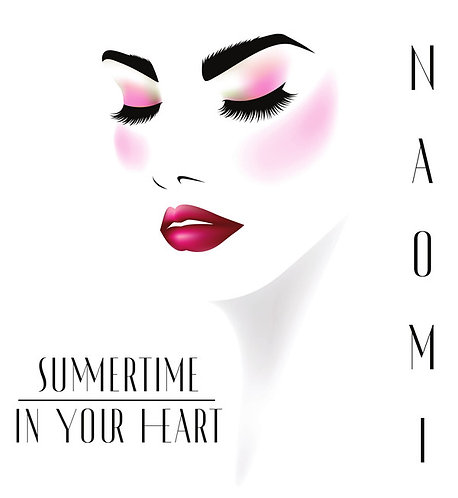 Naomi - Summertime In Your Heart (Remix) - Bone White Vinyl