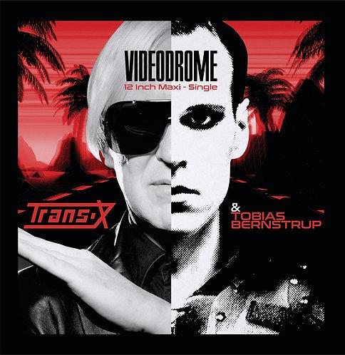Trans-X & Tobias Bernstrup - Videodrome - Crystal Clear Vinyl
