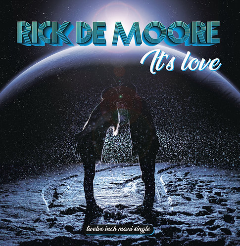 Rick De Moore - It's Love - Sea Blue Vinyl