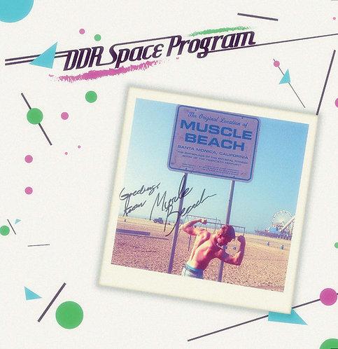 DDR Space Program - Muscle Beach - Aqua Blue Vinyl