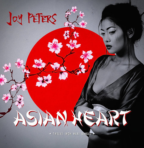 "Joy Peters - Asian Heart 12"" Yellow Vinyl"