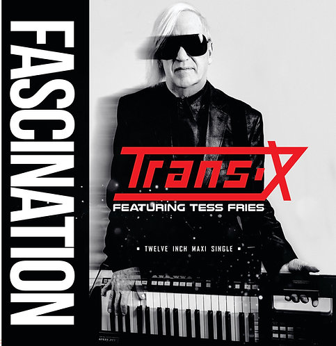 "Trans-X ft Tess Fries - Fascination- 12"" Red Vinyl"