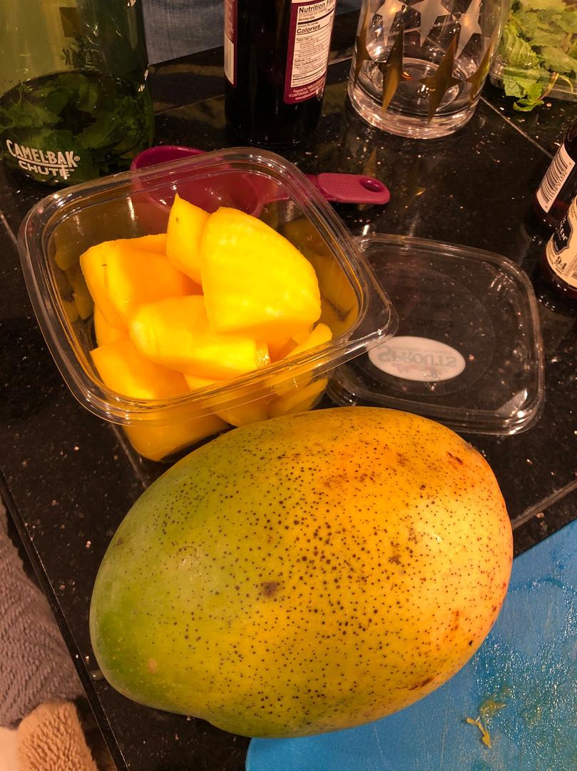 Mango addition