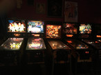 PG's extensive pinball collection