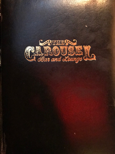 Stop one: Carousel bar!