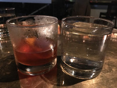 Old Fashioned, minus the ice cube berg