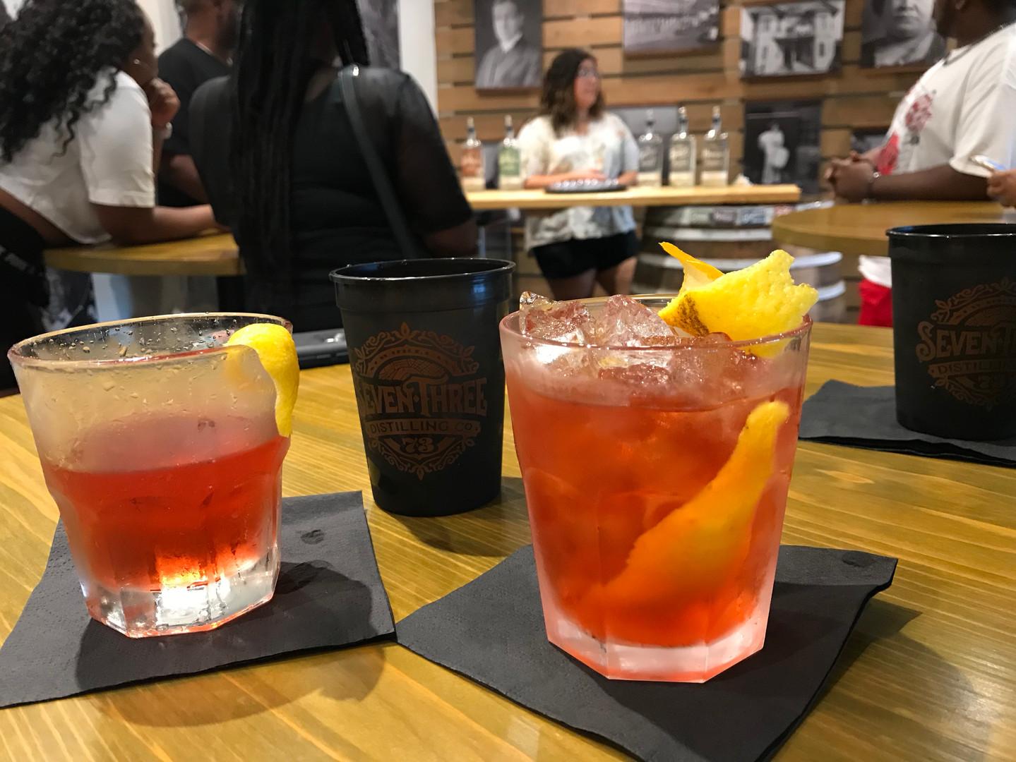 Bonus round at 73 Distillery (coming soon)