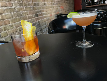 Old Fashioned on tap and the Bourbon Rose