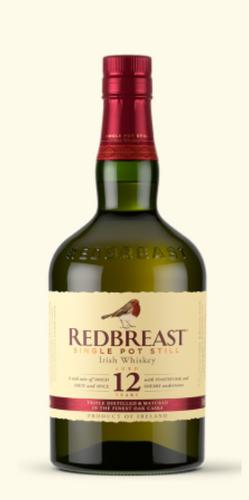 Redbreast bottle, from website