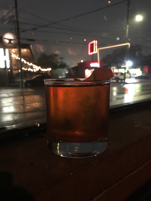 Old Fashioned getting its noir on